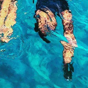 Swimming the ocean